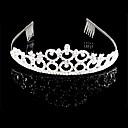 Nupcial de la boda de princesa Pageant Prom Crystal Tiara Crown tiara