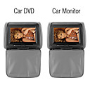 9 Inch Headrest DVD with Touch Screen,FM,IR,MP3,MP4,32 Bit Wireless GAMES(1 DVD + 1 Monitor)