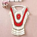 Kvinners Spring Hollow ut strikking genser