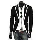 Men's Slim Casual Contrast Color Blazer