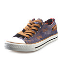 Men's Shoes Casual/Athletic Canvas Fashion Sneakers Blue/Khaki