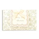 Wedding Invitasjon med bånd bowknot-Sett med 50