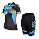 Spakct夏メンズポリエステル100%半袖サイクリングジャージスーツ