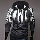 moda masculina com uma jaqueta slim hood