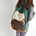 Women's Japanese And Kerean Fashion Canvas Casual Backpack