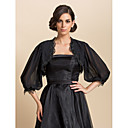 Wedding / Party/Evening / Casual Chiffon Coats/Jackets 3/4-Length Sleeve Wedding  Wraps