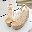 Shimandi ® Lace Women's Wedge Heel Platform Sandals Shoes(More Colors)