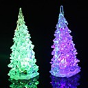 Crystal Christmas Tree Light Colorful LED  Night Light Tree Small Lamp