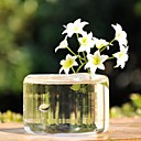 Table Centerpieces Transparent Glass Vase  Table Deocrations (Flowers Not Included)