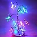 coway jul drøm træ lys skinner sommerfugl mini træ førte natlys