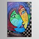 Hand geschilderd olieverfschilderij Museum Masters Paintings Pablo Picasso Kiss Schilderen de met gestrekte kader