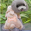Lovely Bear With Bone Design Clothes With Legs For Dogs Pets(Assorted Sizes,Colors)