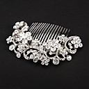 Women's Alloy Headpiece - Wedding / Special Occasion Hair Combs / Flowers
