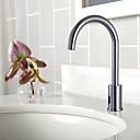 Messing Sensor Chrome Finish Bathroom Sink Faucet