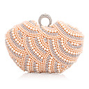 Handbags Imitation Pearls Rhinestones Wedding/ Special Occasion Evening Clutches With Chain(More Colors)