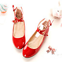 Round Toe Flat Heel Leather Flats Women's Shoes(More Colors)