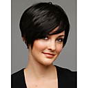 Capless Top Grade Synthetic Black Short Straight Bob Hairstyle Wig for Women