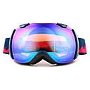 basto winddicht marine blauw kader spiegel lens skiën sneeuwbril