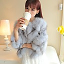 Fur Coats Women's Pure And Fresh And Small Sweet Wind Coat Fox Hair Leg Hair Short Fur Jacket (More Color)