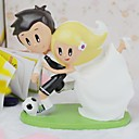 Cake Toppers Doll Lovers in Football Furnishing Articles