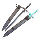 Inspired by Sword Art Online Kirito White Sword Dark Repulsor Cosplay Sword with Sheath