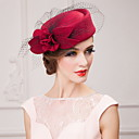 Women's/Flower Girl's Wool Headpiece - Wedding/Special Occasion/Casual/Office & Career/Outdoor Hats