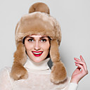 Fur Accessories Fur Hat Rabbit Hair Casual Fur Hat(More Colors)