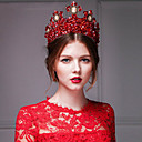 Gorgeous Red Rhinestone/Titanium Tiaras With Wedding/Party Headpiece