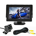 RenEPai® 4.3 Inch Monitor + 170°HD Car Rear View Camera +  High-Definition Wide Angle Waterproof CMOS Camera