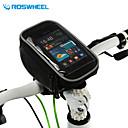 휴대 전화 가방 / 자전거 핸들바 백 / 사이클 가방 다기능 / 터치 스크린 사이클링 PVC 블랙