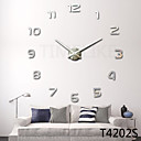 Fashion Design Large Wall Clock Home Decor 3D Diy Clock