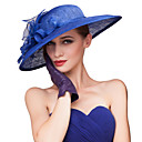 כובעים כיסוי ראש נשים חתונה/אירוע מיוחד פשתן חתונה/אירוע מיוחד חלק 1