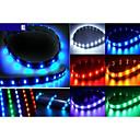 30 centimetri strisce morbide di luce blu / rosso / verde / giallo / bianco, luci del telaio dell'automobile, luci intermedi griglia auto
