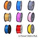 3D Printer Dedicated 1.75mm Filament PLA Print Materials (360m)-Assorted Color