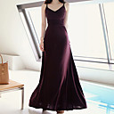 Women's Vintage/Sexy/Bodycon/Casual/Cute/Party/Maxi Stretchy Sleeveless Maxi Dress (Cotton)