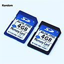 4gb tarjeta de memoria SD (clase 4)