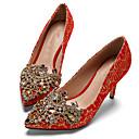 Chaussures de mariage - Rouge - Mariage / Habillé / Soirée & Evénement - Talons - Talons - Homme