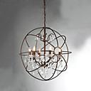 MAX:60W Lysekroner ,  Vintage Maleri Trekk for Krystall Metall Soverom / Spisestue / Inngang / Entré