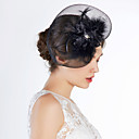 Fashion Net With Rhinestone Women's Birdcage Veils