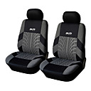 Autoyouth 4 Pieces/Set Car Seat Covers Universal Fit Material Polyester 3MM Composite Sponge