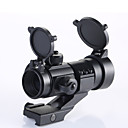 21mm Rails Aluminum Alloy 1X32 M3 Aimpoint Red Green Dot Sight Scope  (1 x CR2032)