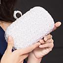 Metall Hochzeit / besondere Anlässe Kupplungen / Abend Handtaschen mit Strass / Nachahmungen von Perlen (weitere Farben)