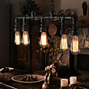 MAX 40W Traditional/Classic / Vintage / Lantern / Country / Retro Mini Style Painting Metal Pendant LightsLiving Room / Bedroom / Dining