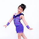 justaucorps/Tutus & Jupes/Gants de danse (Comme l'image , Paillété/Lycra , Danse moderne/Jazz/Spectacle/Costumes de Pom-Pom Girl)Danse