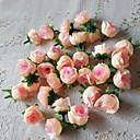 50pcs de décoration de mariage artificielle roses de soie fleurs tête bébé décorations de douche cotillons (plus de couleurs)