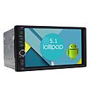 Quad Core Android 5.1.1 Lollipop Universal Car Radio HD 1024*600 Resolution 7'' GPS Navigation Head Unit