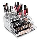 Almacenamiento de Maquillaje Caja de Cosméticos / Almacenamiento de Maquillaje Plástico / Acrílico Un Color Others 24*15*18.6