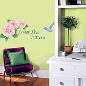 etiqueta de la pared de flores (0752-P3-03 (a))