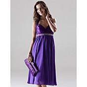KLEOPATRA - kjole til brudepike i Chiffon