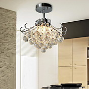 Modern Crystal Chandelier with 6 Lights
